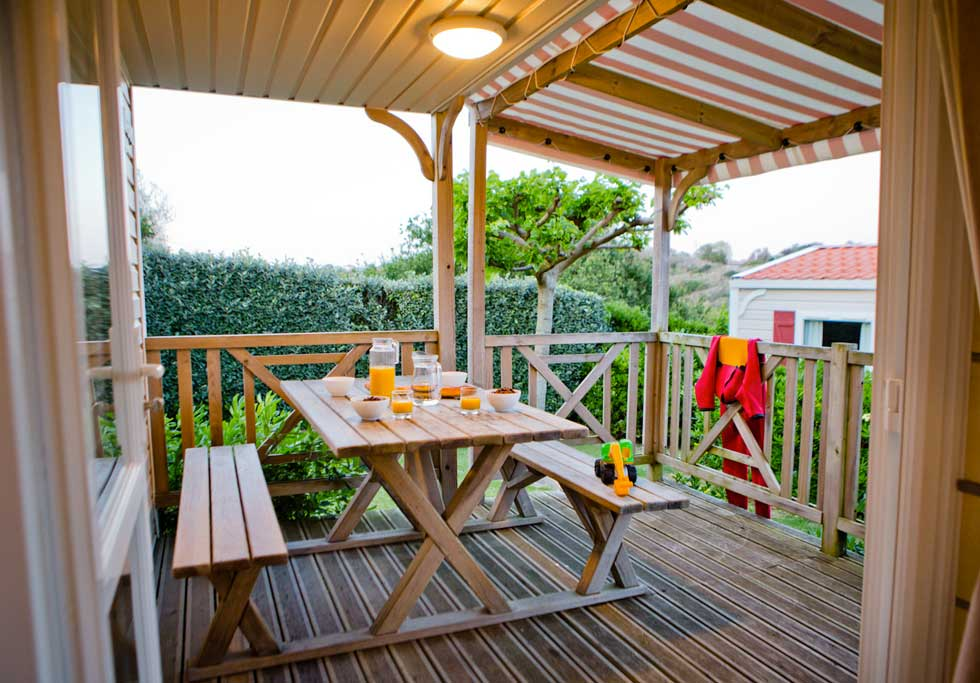 location mobil home st jean de luz